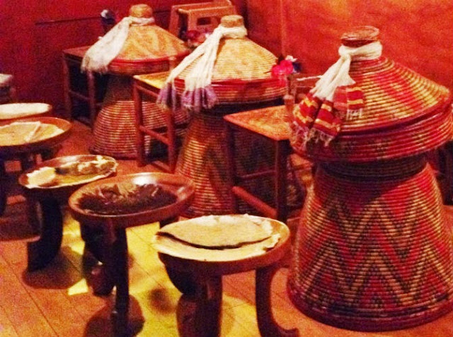 Ethiopian Food at Addis