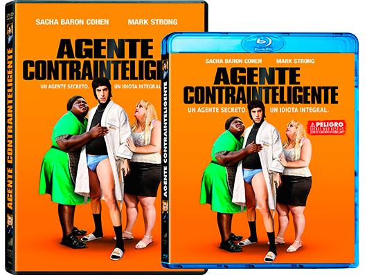 A la venta en DVD y Blu-ray la hilarante 'Agente contrainteligente'
