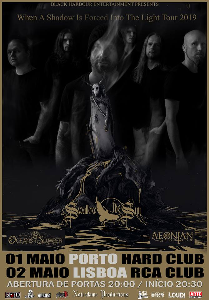 Swallow the Sun / Oceans Of Slumber / Aeonian Sorrow @ Hard Club