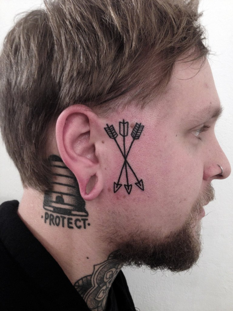 10 Best Facial Tattoo Designs Ever: 40 FACE TATTOOS THAT AREN'T TRASHY AT ALL 2016