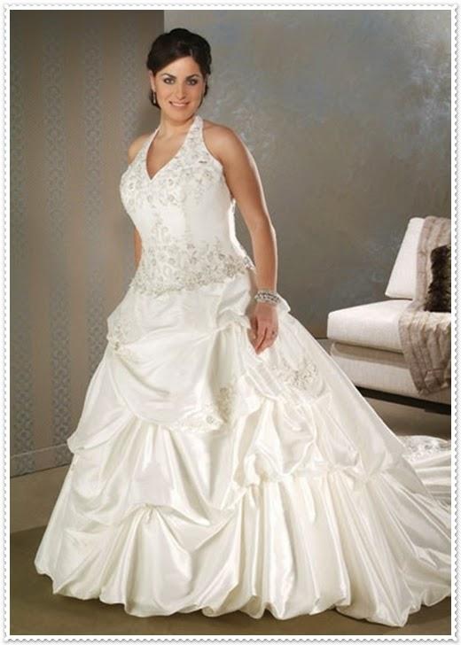 Brautkleider für Übergrössen 2014