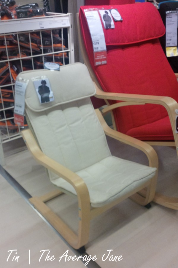 rocker chair sg nash fishing spare parts the average jane style for less giant s relax vs ikea poang children armchair