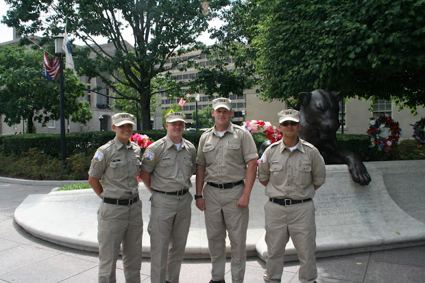 National Law Enforcement Officers Memorial Fund Philadelphia Pa Police Recruits Visit