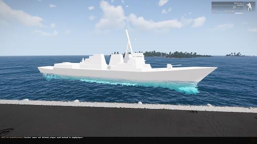 DDG-105 USS Dewey アーレイ バーク級ミサイル駆逐艦 MOD
