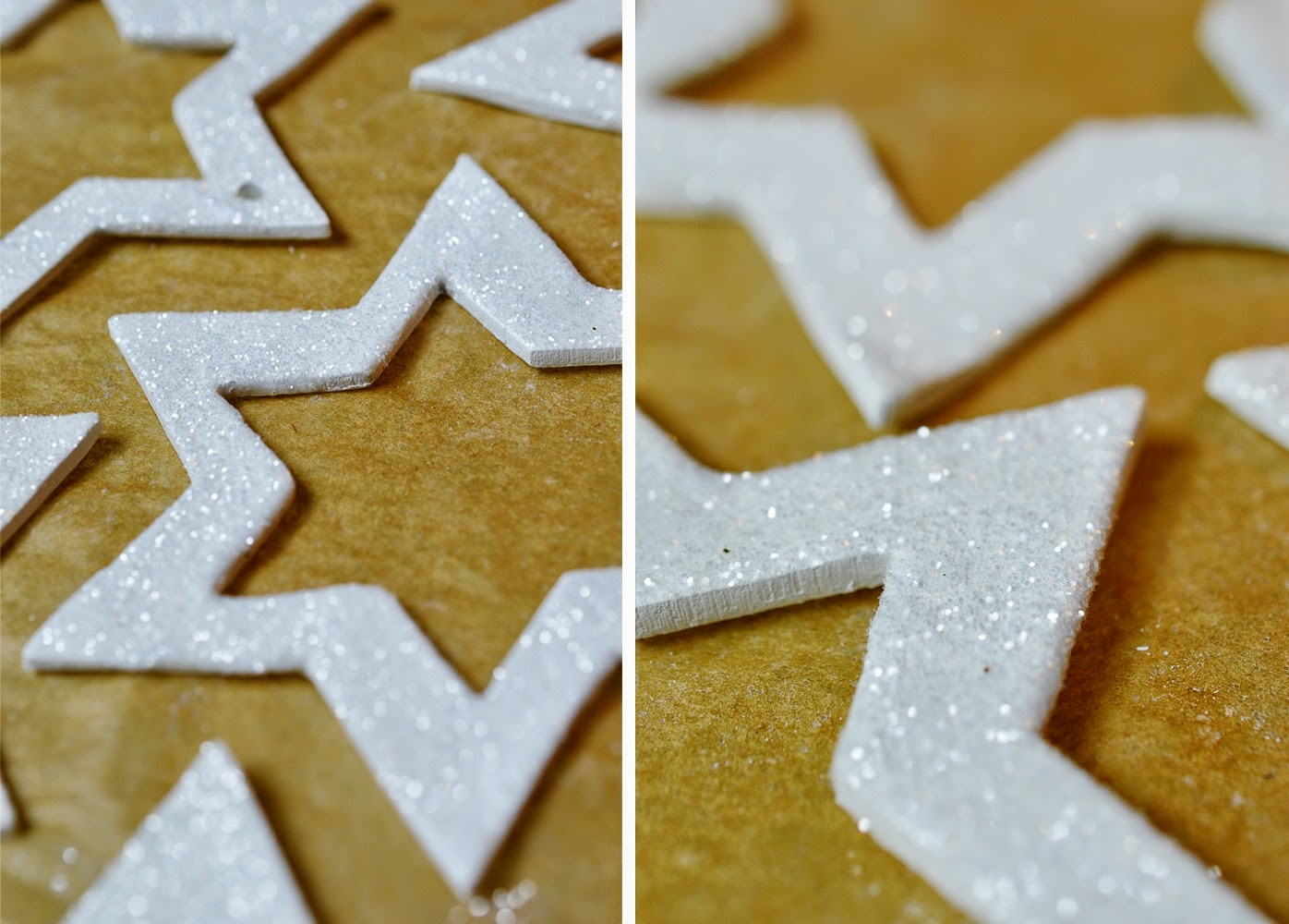 DIY Clay Star Orgnaments | Motte's Blog