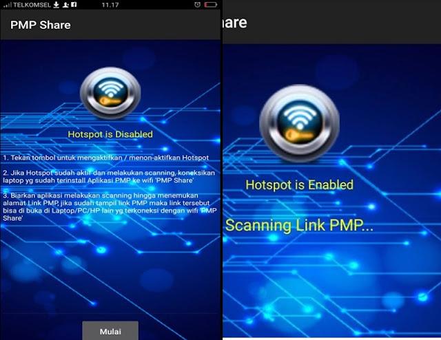 PMP Share Android Bisa Kerjakan Aplikasi PMP Secara Bersama-sama