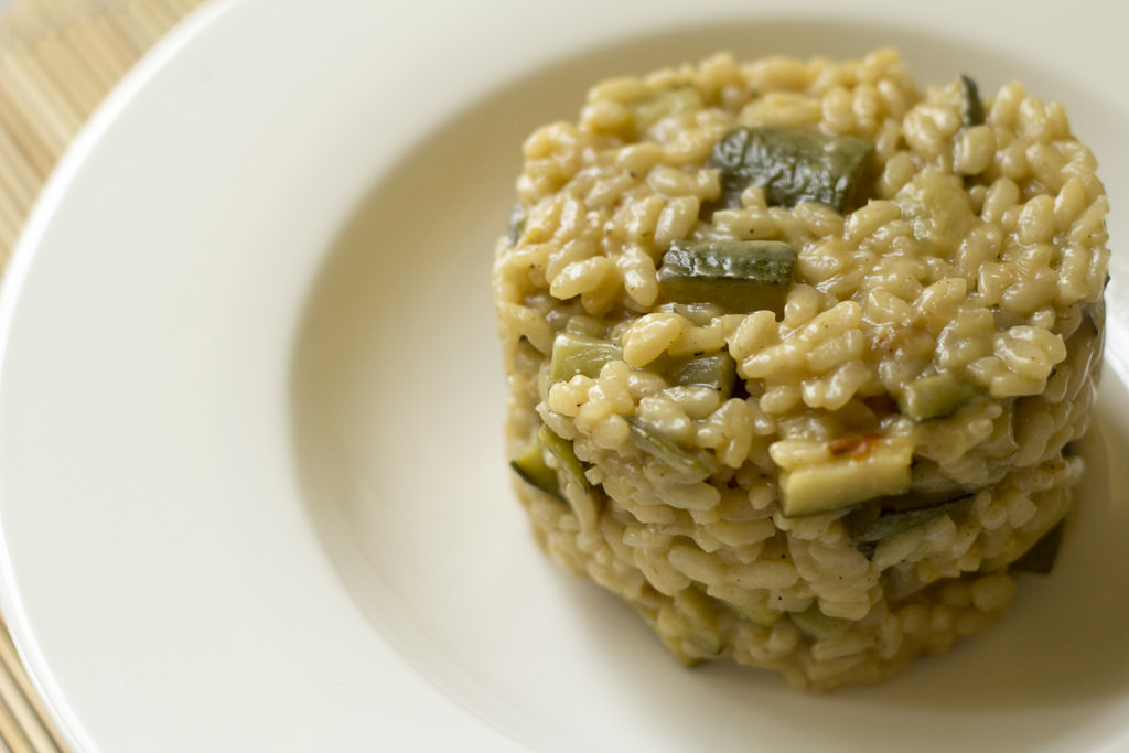 recette risotto aux courgettes idee repas. Black Bedroom Furniture Sets. Home Design Ideas