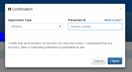 Online NBI Clearance - Step 6