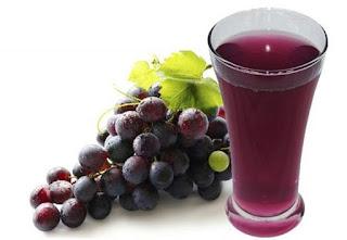 Jus Anggur  dan Wedang Jahe Serai