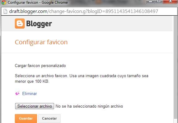 favicon para blogger