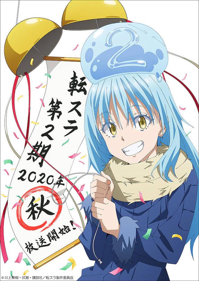Tensei shitara Slime Datta Ken - sezon 2 jesienią 2020