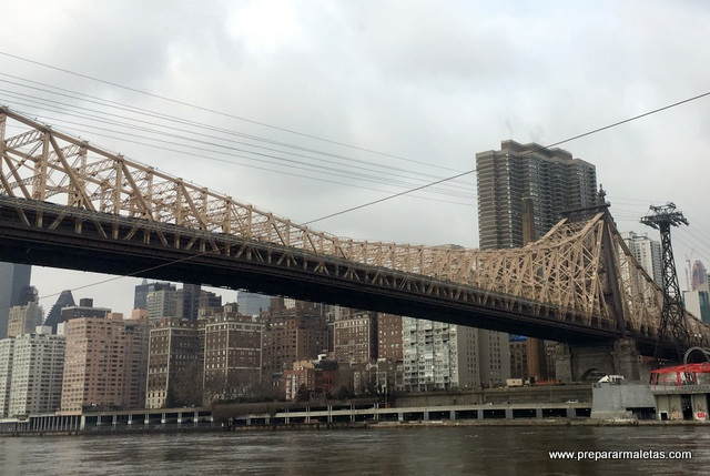 queensboro bridge desde roosevelt island