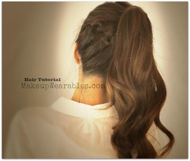 hair tutorial cute braided poofy