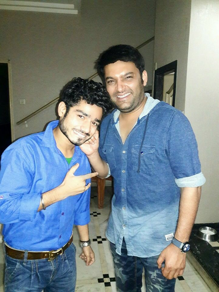 My Pic With Kapil