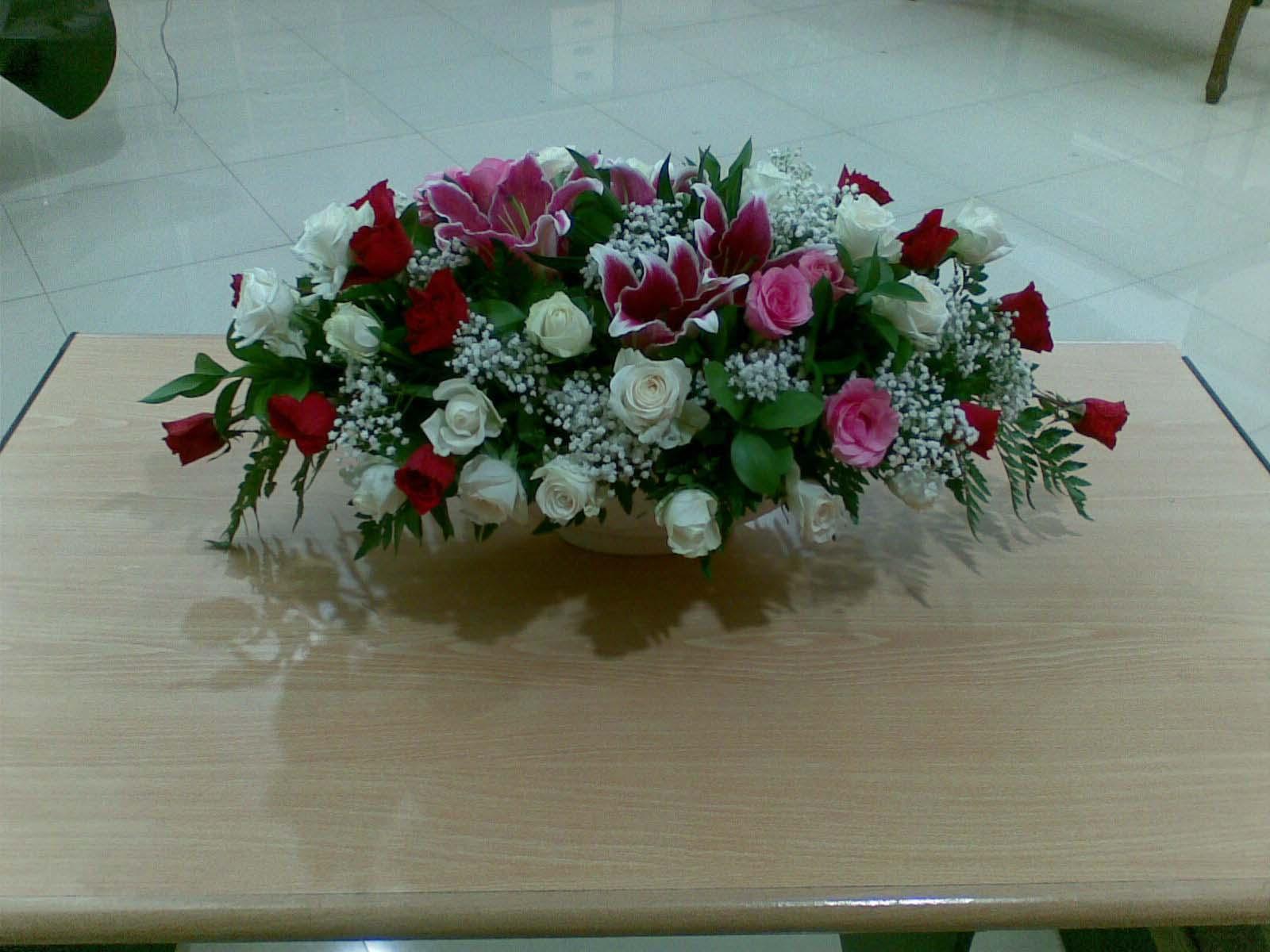 aneka bunga pajang  Alafa florist menyediakan aneka macam