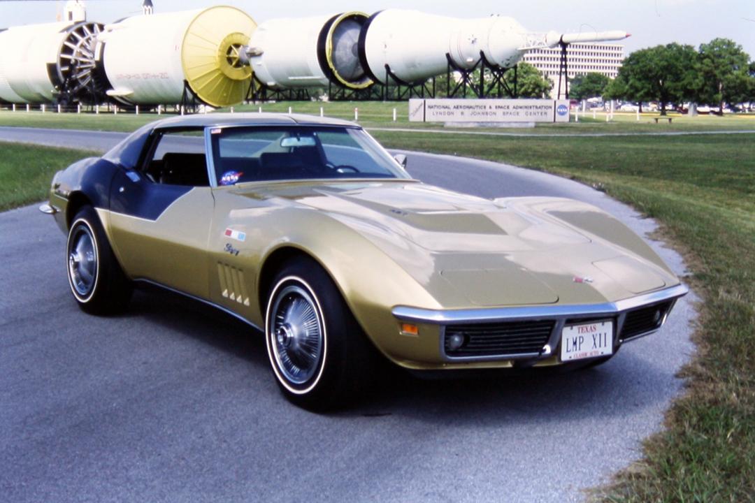 1969 Corvette VIN by Astronaut - Pics about space