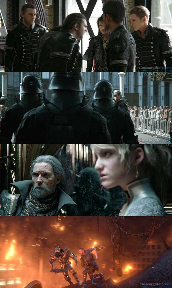 Kingsglaive Final Fantasy XV HD 1080p Español Latino