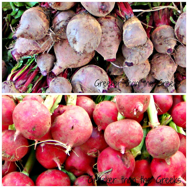 Beetroot & radishes greekerthanthegreeks.blogspot.com