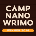 Camp NaNoWriMo 2014 April & July Winner