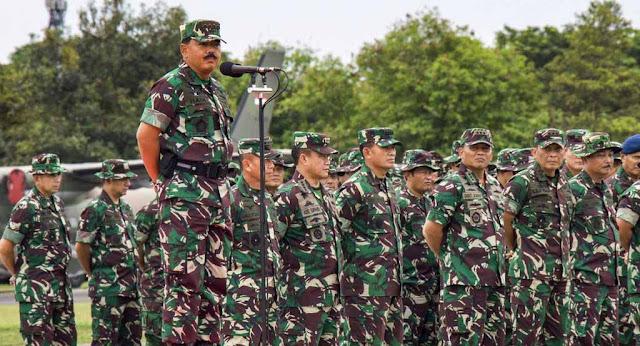 Urutan Pangkat Tentara Nasional Indonesia (TNI)