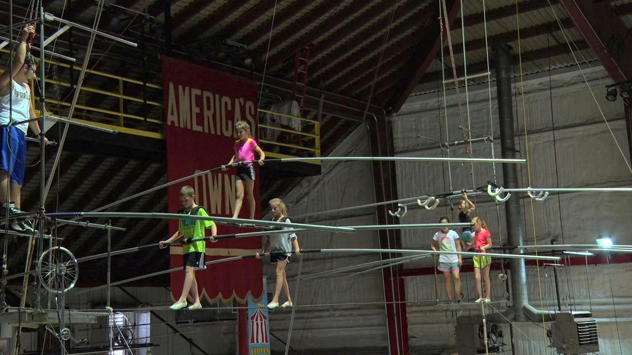 Wenatchee youth circus hosts visiting circus kids