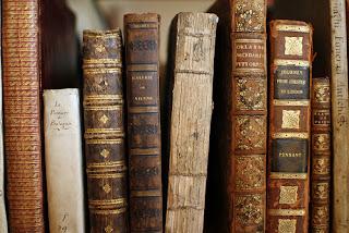 La librería de los finales felices viejos libros marrones