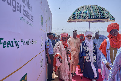 President commissions FMN?s N50bn Sunti Golden Sugar Investment in Niger State