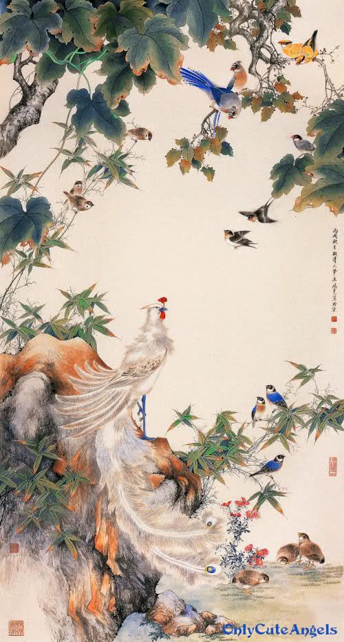 Hansika Motwani Cute Wallpapers Beautiful Paintings Of Birds Only Cute Angels