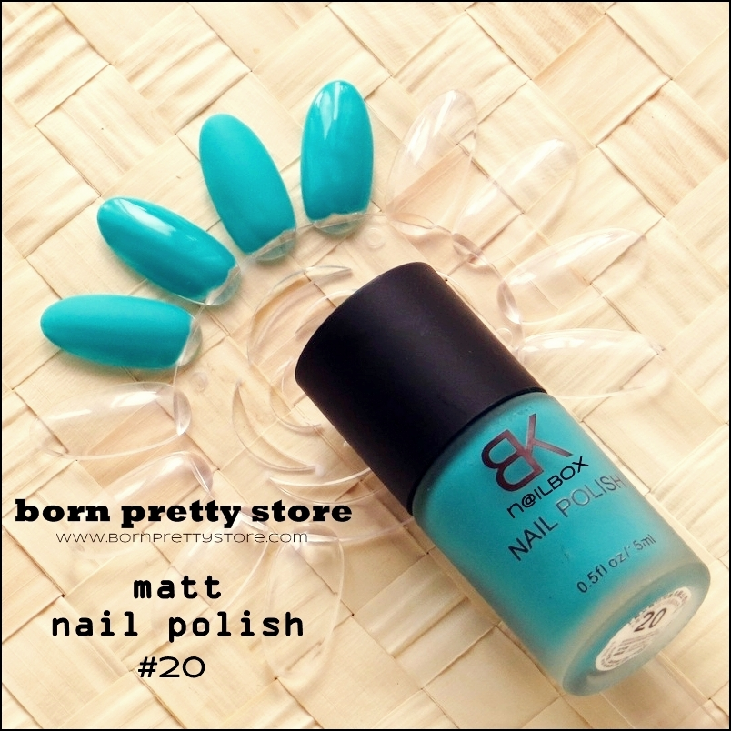 nilbox born pretty store matt nail polish 20