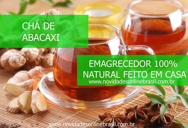 9 Chás de abacaxi : emagrecedor 100% natural feito em casa , sucos emagrecedores , novidades online brasil saúde