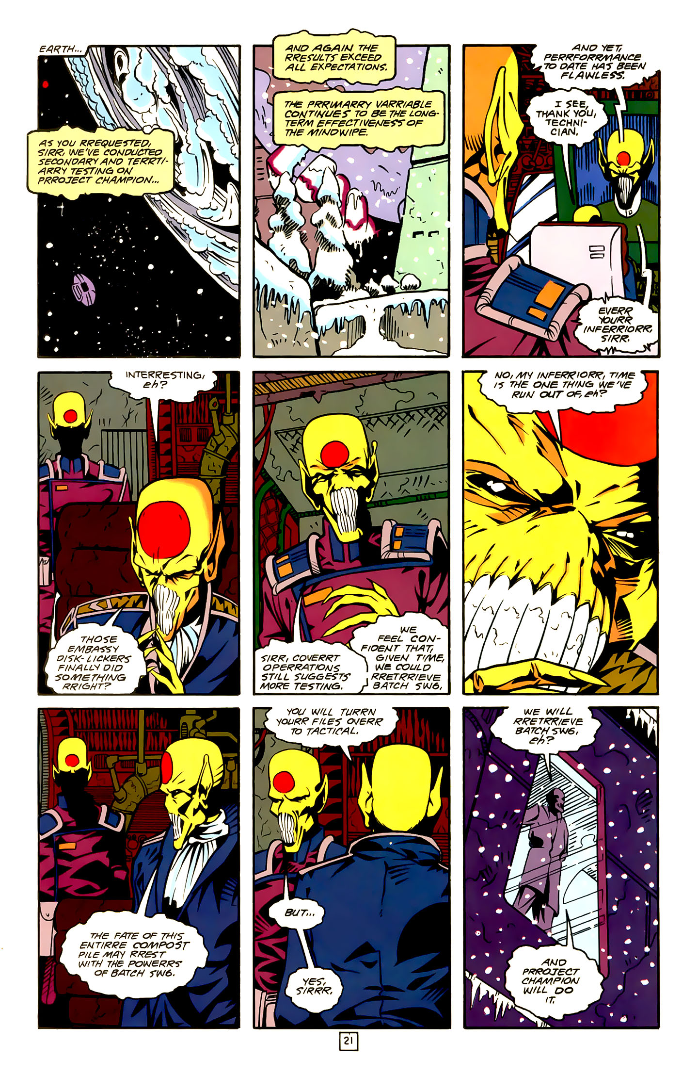 Legion of Super-Heroes (1989) 22 Page 21