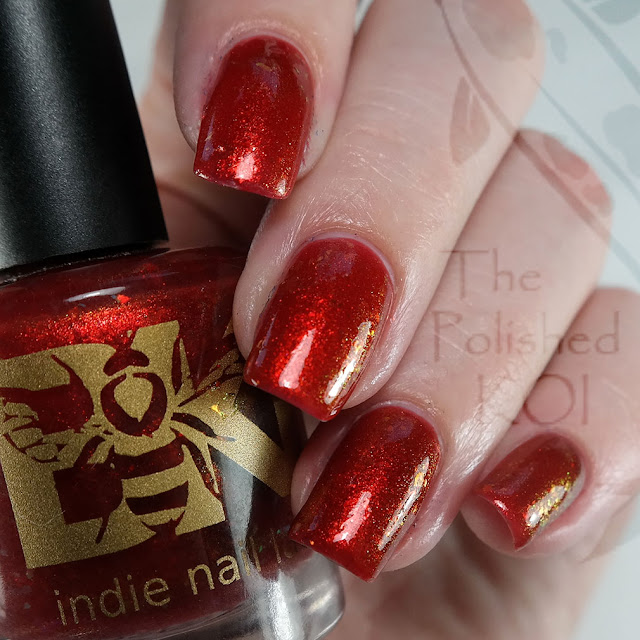 Bee's Knees Lacquer - Blood Magic