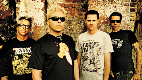 <center>The Offspring performing new songs</center>