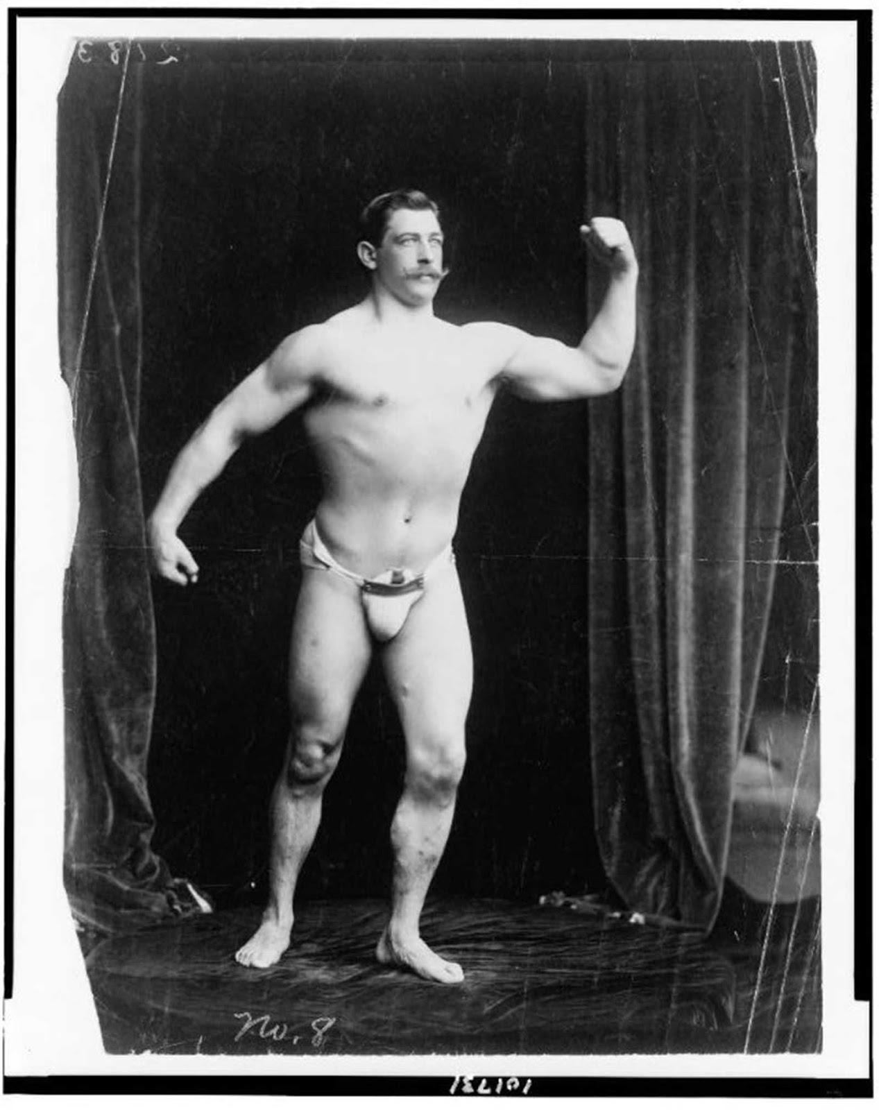 Strongman, circa 1901.