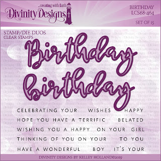 BIRTHDAY (STAMP/DIE DUOS -CLEAR STAMPS)
