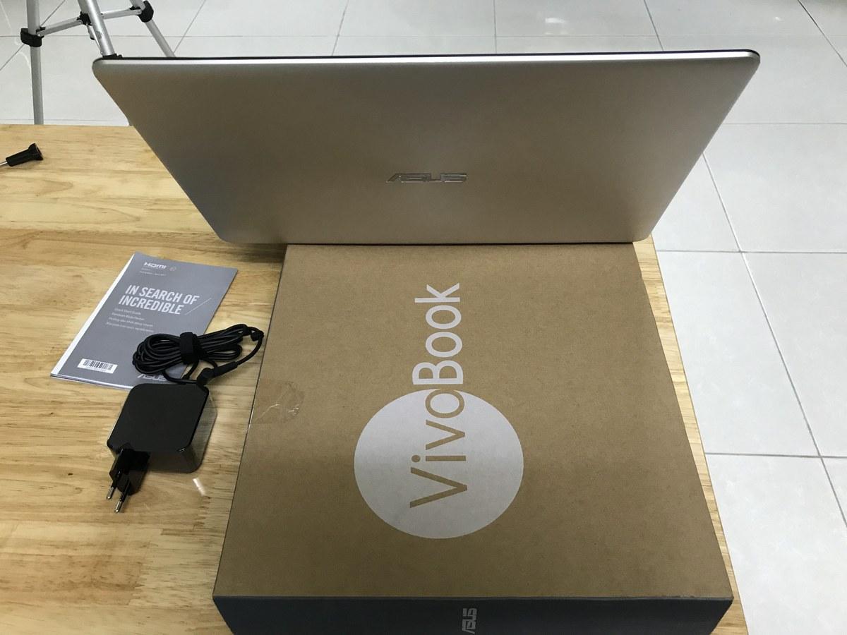 Mở hộp và đánh giá laptop Asus A510UA - EJ111T