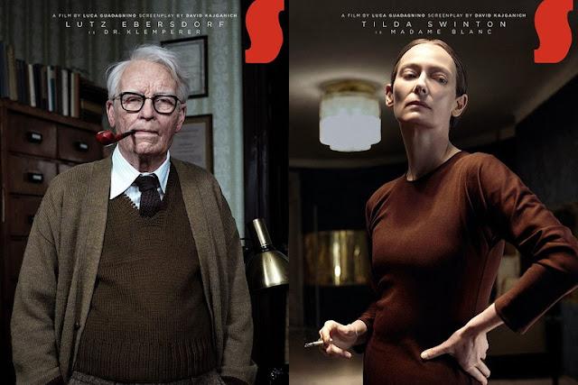 Lutz i Tilda (jako Madame Blanc), zestawie plakatów