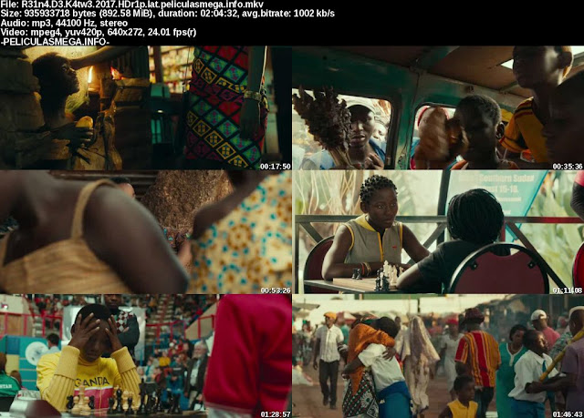 Descargar Queen of Katwe Latino por MEGA.