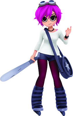 Previews Exclusive Scott Pilgrim's Ramona Flowers Collectible Figure Colorway by Mondo