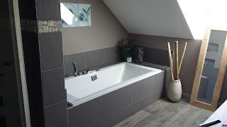 salle bain zen nature marron taupe