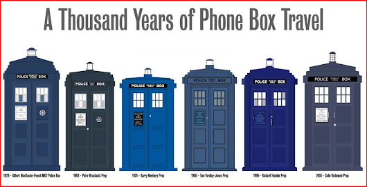 Changes to the Tardis over time ~ The Geek Source