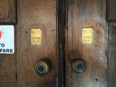 Doors of the Duomo di San Donato in Mondoví Alta