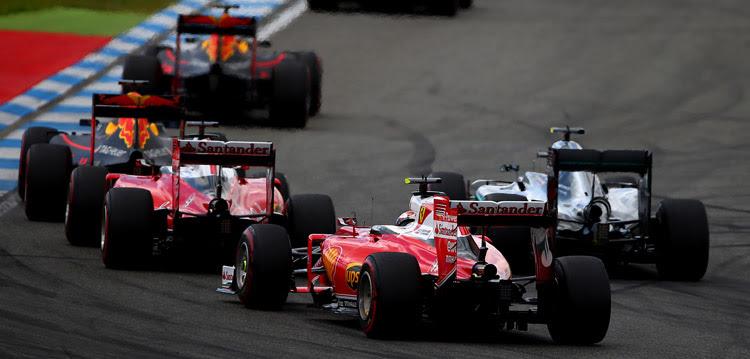Ferrari está por detrás de Red Bull en la temporada 2016 de F1