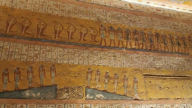 raffigurazioni nella tomba di ramses VI