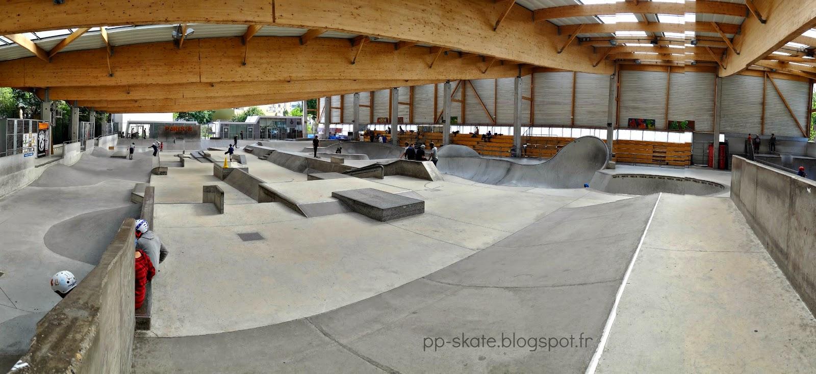 Skatepark Espace glisse paris