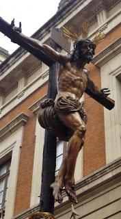 28 de septiembre de 2019. Salida extraordinaria del Cristo de la Sed de Sevilla