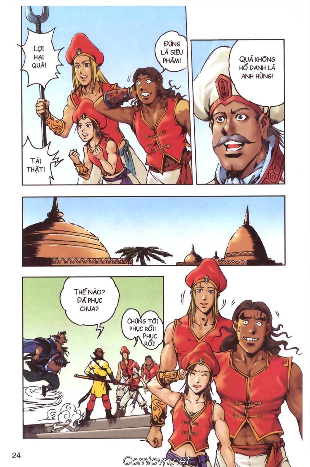 Tây Du Ký màu - Chapter 124 - Pic 20