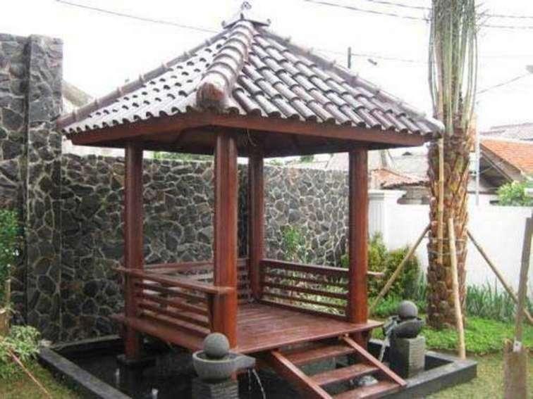 Design Saung Gazebo Konstruksi Taman Dan Jasa Tukang