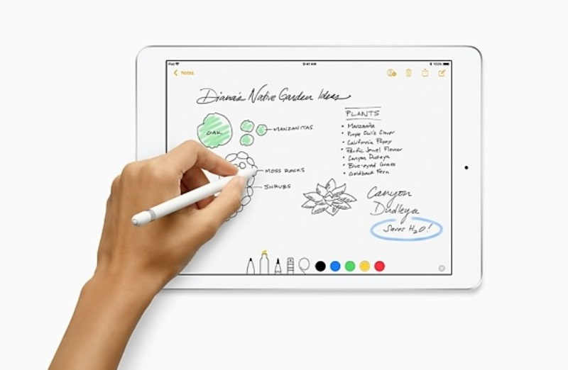 Apple Unveils iPad 9.7 (2018) with Apple Pencil Support, AR Feature