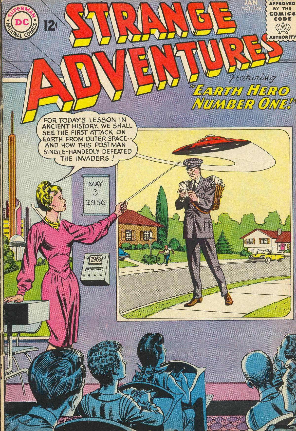 Strange Adventures (1950) issue 148 - Page 1